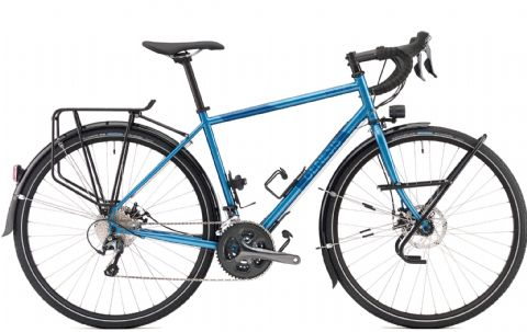 Genesis Tour de Fer 30 Adventure Bike Blue 2018
